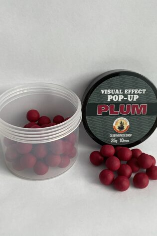 Бойлы POP-UP Visual Effect Krill d.10mm